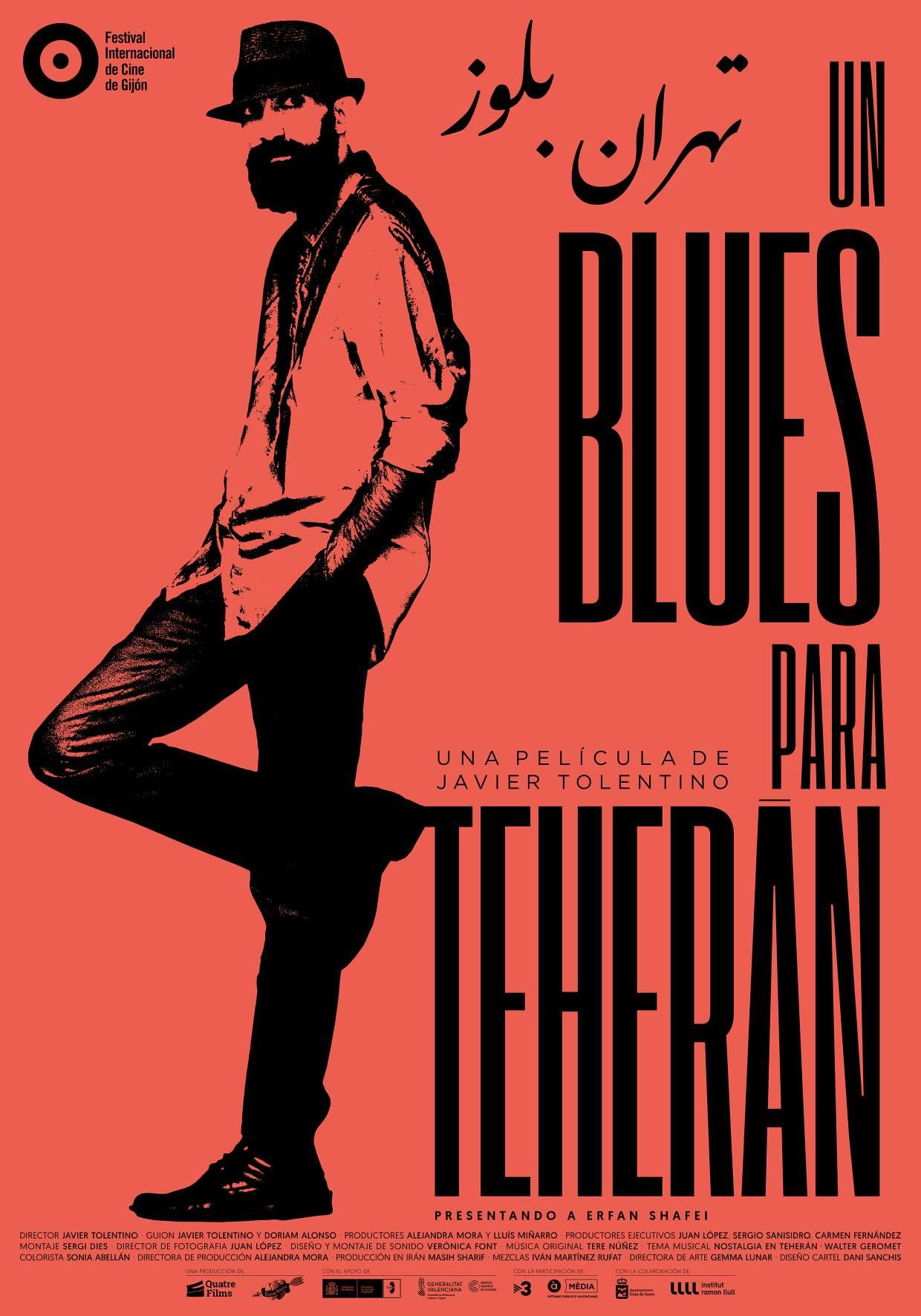 Preestreno de 'Un blues para Teherán', de Javier Tolentino
